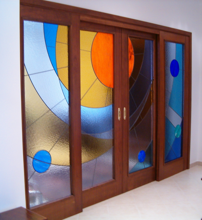 Vetrate darte doors and over door glass panels every glass pane can be supplied in the style and design chosen by the client and existing models can be be modified in any way desired planetlyrics Images